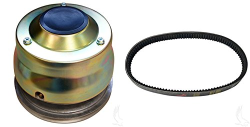 RHOX Yamaha Drive Clutch with Drive Belt For 4 Cycle G2-G22 Golf Carts