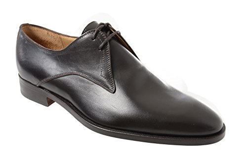 Sutor Mantellassi Donkerbruin Lederen Derby Blucher Lace Up Dress Shoe