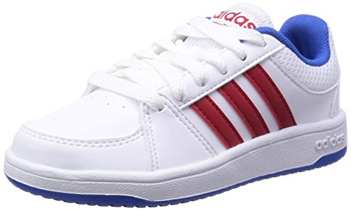 Adidas - Hoops VS K - F98541 - Color: Azul-Blanco-Rojo - Size: 31.0