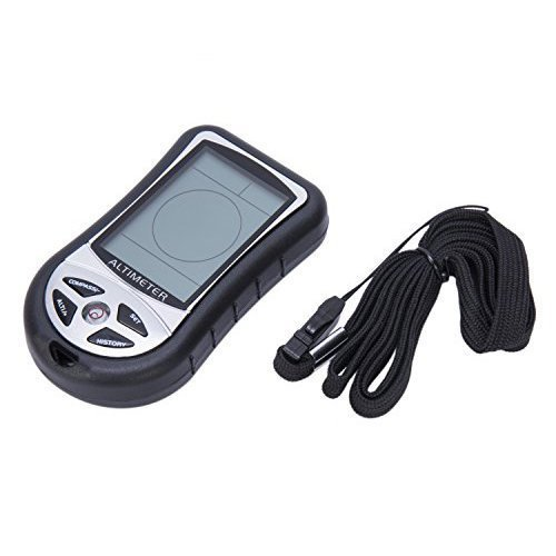 Joyutoy 8 In 1 Digital Multifunction LCD Compass Altimeter Barometer Thermometer