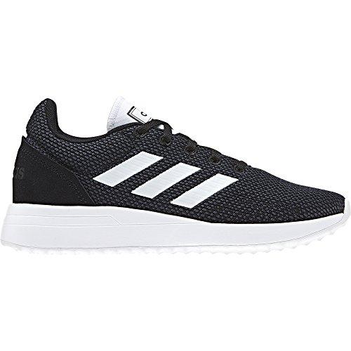 Price comparison product image adidas Unisex Run70S Running Shoe, Black/White/Carbon, 5.5 M US Big Kid