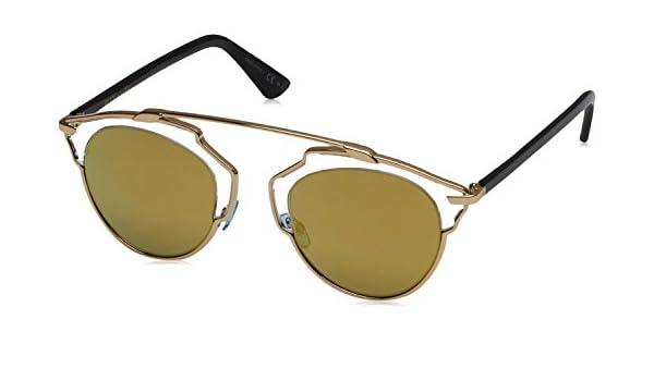 Christian Dior Gafas de sol Diorsoreal K1 Gold Crystal Black ...