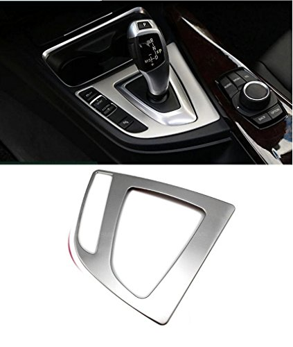 Boobo B-GF 2013-2016 Chrome F30 F31 Stainless Steel Interior Gear Shift Frame Cover Trim For BMW 3-Series
