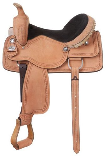 (King Series Cowboy RO Barbwire Saddle)