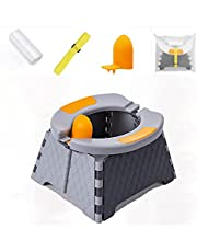 Portable Potty Training Seat for Toddler | Kids Travel Potty | Foldable Toilet Seat | Baby Potty Seat for Indoor and Outdoor