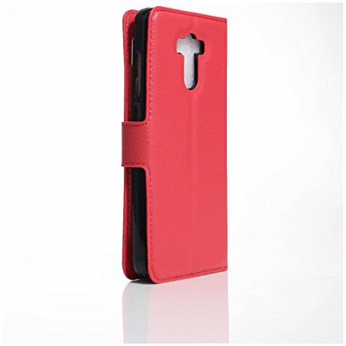 Funda Xiaomi Redmi 4,Manyip Caja del teléfono del cuero,Protector de Pantalla de Slim Case Estilo Billetera con Ranuras para Tarjetas, Soporte Plegable, Cierre Magnético C
