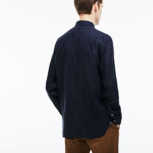 Navy Camicia Blue casual Man Lacoste gx0OwP