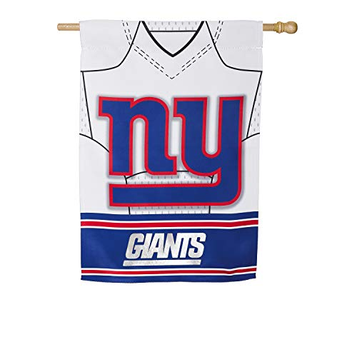 Team Sports America New York Giants Jersey House Flag - 28 x 44 ()