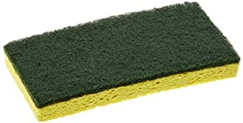 Continental 74H 6.25 Inch by 3-3/8 Inch by 7 Inch Sponge Scrub (Case of 24)