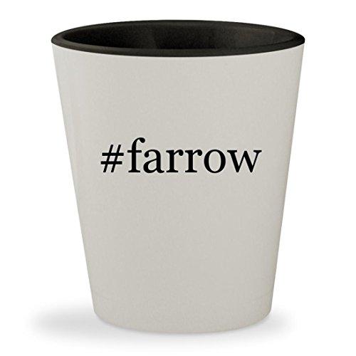 #farrow - Hashtag White Outer & Black Inner Ceramic 1.5oz Shot - Denver Sunglass Hut