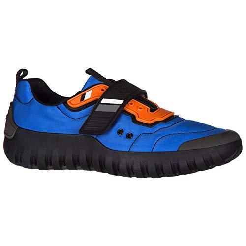Prada Uomo Nero Nero Sneakers Prada Azzurro Azzurro Uomo Sneakers R8xqwR