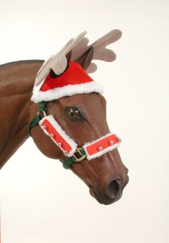 Christmas Horse Tack.Jt International Holiday Horse Antlers