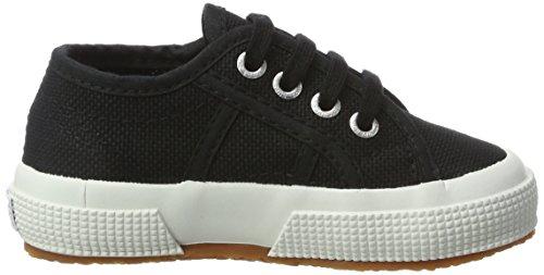Superga 2750 Jcot Classic - Zapatillas de casa Unisex Niños Schwarz (Black-White)