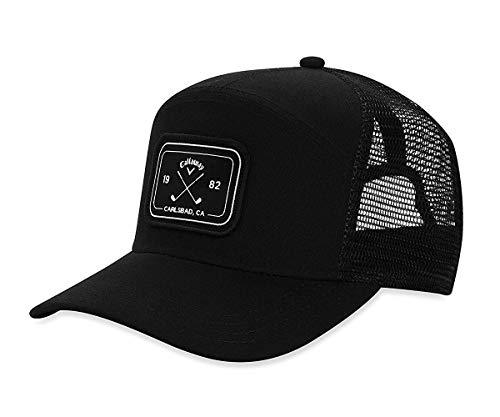 Callaway Golf 2019 6 Panel Trucker Hat, Black