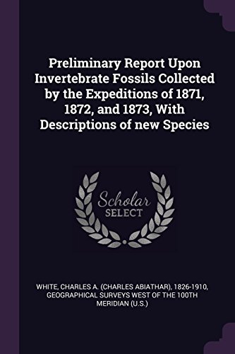 Preliminary Report Upon Invertebrate Fossils Collected by the Expeditions of 1871, 1872, and 1873, With Descriptions of new Species
