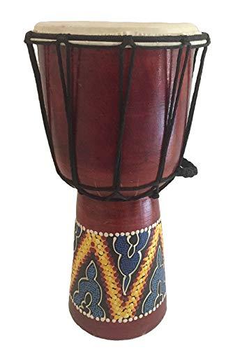 - Djembe Drum Bongo Congo African Drum Wooden Hand Drum Professional Sound - JIVE BRAND (12