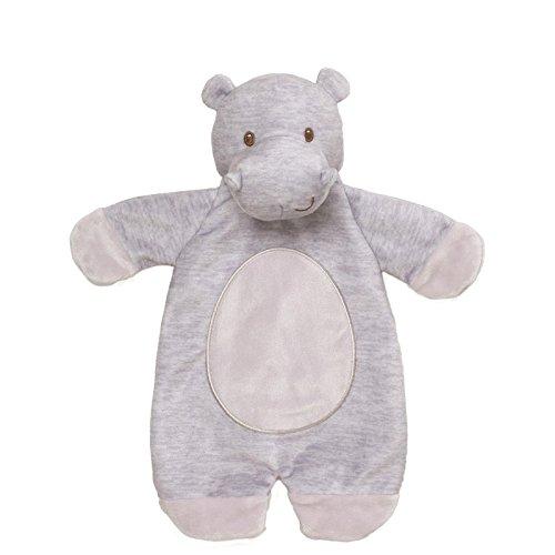 ls Hippo Lovey Stuffed Animal Plush Blanket, 11.5