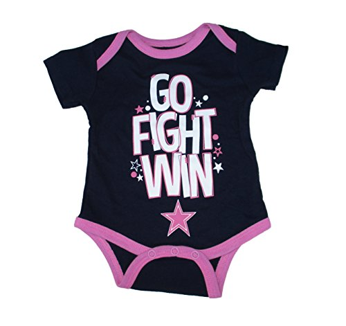 Dallas Cowboys Infant Size 3 Months Bodysuit Creeper One Piece Team Logo - Navy Blue and Pink