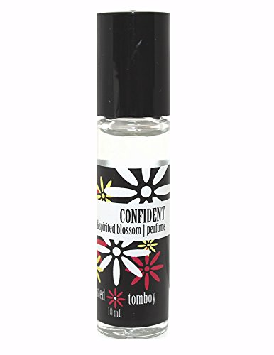 Twisted Tomboy 'Confident' - Sweet & Spirited Blossom Roll-On Perfume (Coconut Oil + Fragrance. That's It! Natural & Long Lasting ()