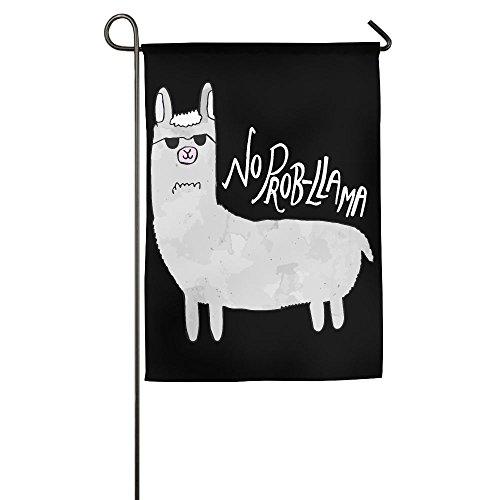 LLiYing-D No Prob-llama Pun Present Flag