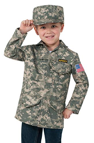 Rubie's Deluxe Kid's Camo Combat Role Play Dress-Up