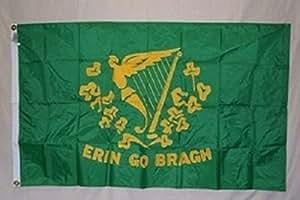 2x 3bordado coser Erin Go Bragh Irlanda SolarMax Nylon bandera 2'x3' bandera