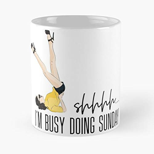 Fashion Girl Sketch Face - Funny Gifts For Men And Women Gift Coffee Mug Tea Cup White 11 Oz The Best Gift Holidays. ()