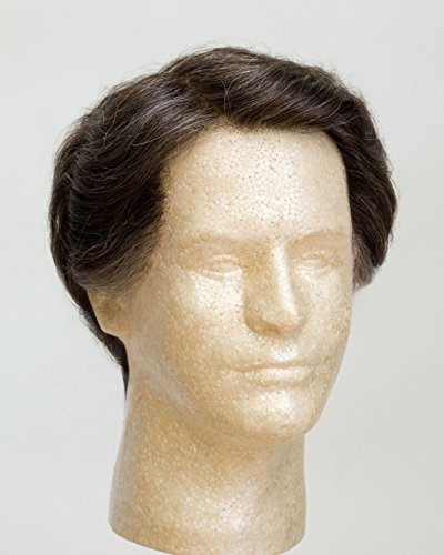 "John Blake's Wigs and Facial Hair, Inc. - 6"" Regular Men's Wig Small (Salt & Pepper)"