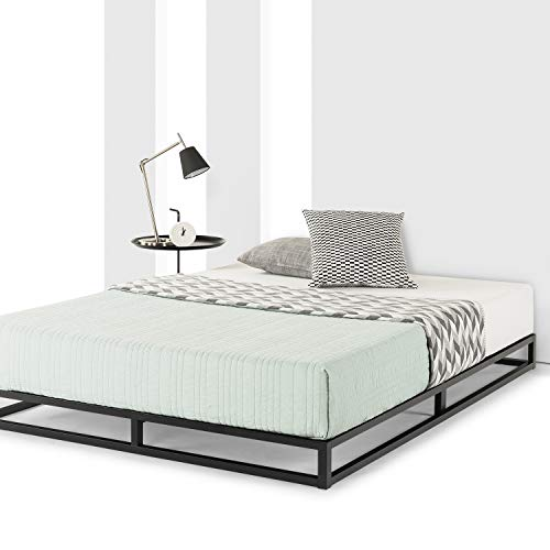 Amazon Com Mellow Queen Low Profile 6 Quot Metal Platform Bed
