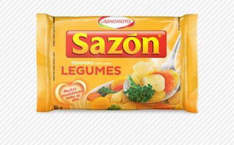 Ajinomoto Sazon Legumes | Vegetable Seasoning - 60gr 2.11oz (2 Pack)
