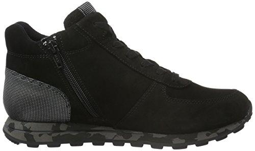 Gabor Shoes Comfort Basic, Zapatos de Cordones Derby para Mujer Negro (Schwarz k.S.cf)