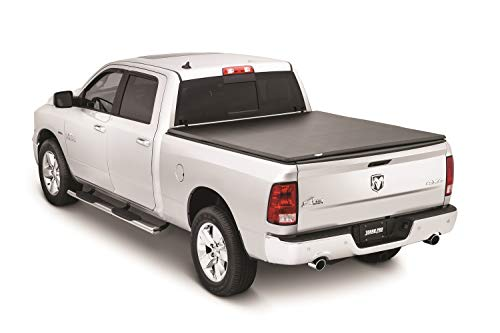 Tonno Pro LR-2015 Lo-Roll Black Roll-Up Truck Bed Tonneau Cover 2009-2018 Dodge Ram 1500, 2010-2018 Dodge Ram 2500, 3500 | Fits 6.4' Bed (Excludes Beds with -