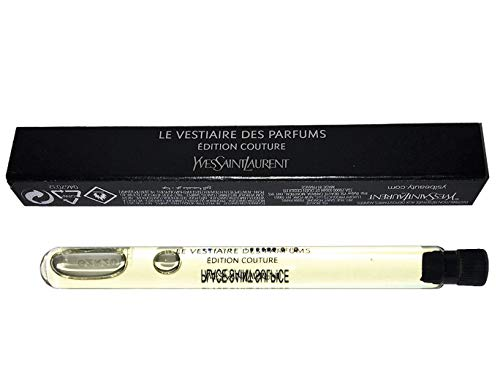 Yves Saint Laurent Beaute Exclusive LE VESTIAIRE DES PARFUMS Eau de Parfum 3.5ml/ 0.11oz Vial (Edition Couture 6 place Saint Sulpice) ()