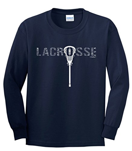 Lacrosse Collage Youth Sleeve T Shirt