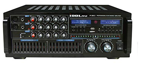 Karaoke Mixing Amplifier Amp - IDOLpro IP-388 II 1400W Professional Karaoke Mixing Amplifier