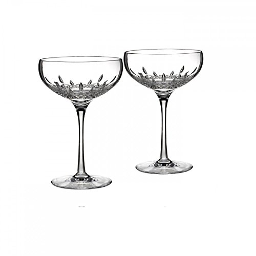 Essence Champagne Glass - Lismore Essence Saucer Champagne Glass (Set of 2)