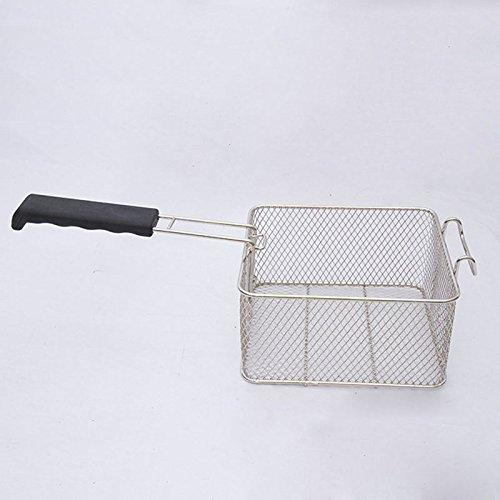 Proglam - Cesta freidora de Grasa de Acero Inoxidable para freír Aceite, Patatas Fritas, Pescado, Frutos Secos, Alimentos y cocinas: Amazon.es: Hogar