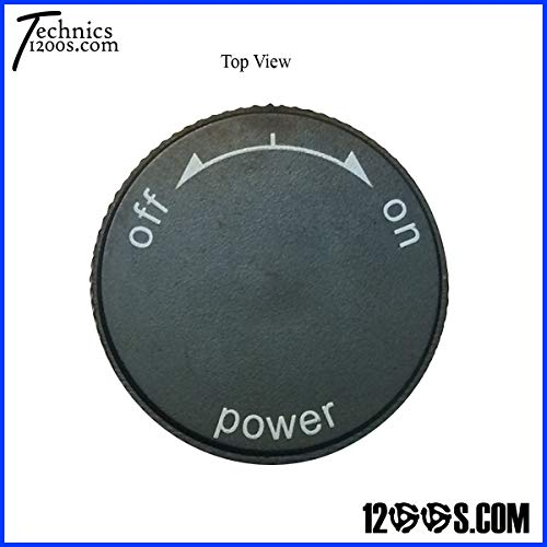 (Technics 1200 / 1210 MK2 Power On / Off Knob (CAP ONLY))