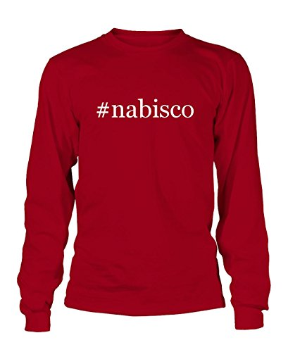 nabisco-hashtag-mens-adult-long-sleeve-t-shirt-red-small