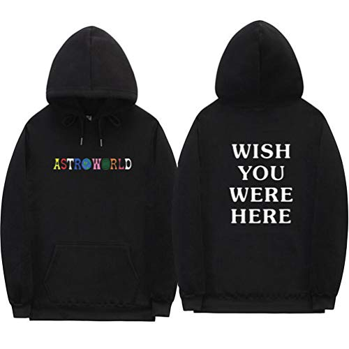 Here Automne Yuandiann De Longue Hiver Casual Hommes Ecriture Manche Sport Chaud Sweatshirts You Were Noir Wish Hoodie Doublure Sweat Astroworld A Pull Femmes Capuche Velours vYrqUv