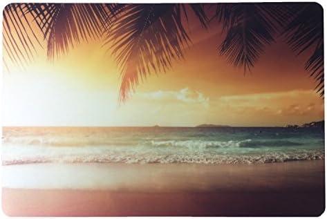 Schreibtischunterlage Sonnenuntergang am Strand 40 x 60 cm abwischbar