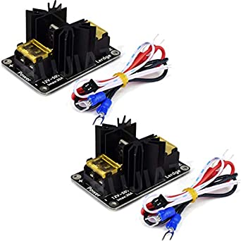 Active Components Latest Collection Of 2pcs 30a Mos Tube Heat Bed Power Module Expansion Board Mos Tube Hotend Replacement With Cables For 3d Printer Parts
