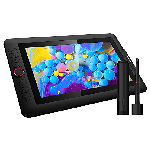 Drawing Monitor XP-PEN PenDisplay Artist 13.3 Pro Tilt Supported with a Dial and 8 CustomizableShortcut Keys FHD Graphics Display