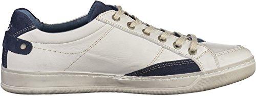 Dockers by Gerli 38ho001-102, Men's Low-Top Sneakers White / Blue