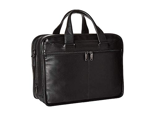 Tumi Unisex Alpha 3 Expandable Organizer Laptop Brief Black One Size