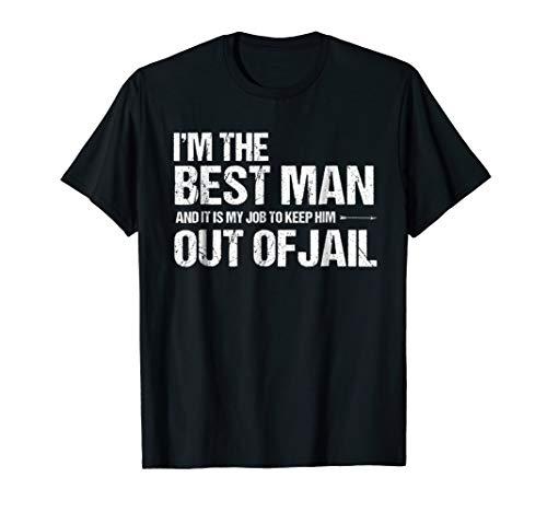 Best Man Bachelor Party Shirt   Funny Best Man Tshirt