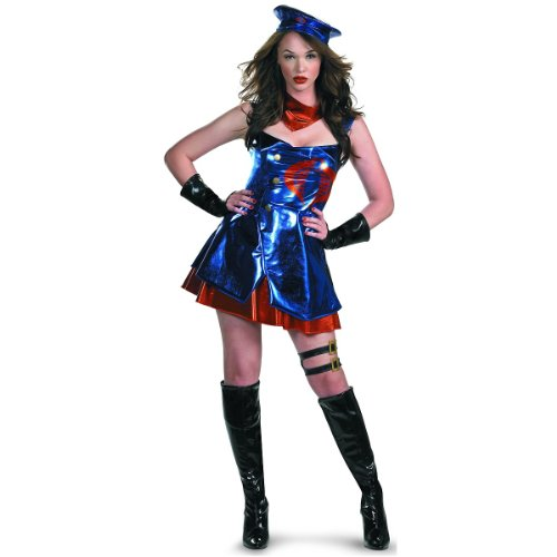 Sassy Cobra Commander Deluxe Adult Costume - Small