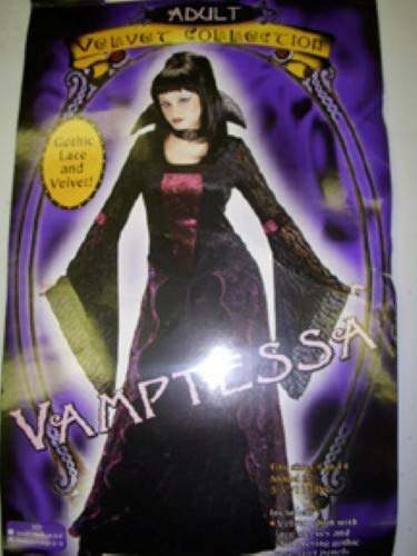 FunWorld Vamptessa, Black, 10-14 Medium/Large ()