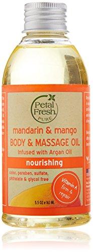Petal Fresh Body Oil, Mandarin/Mango, 5.5 Fluid Ounce