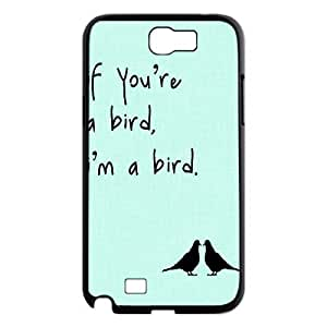 Bird Personalized Cover Case for Samsung Galaxy Note 2 N7100,customized phone case ygtg566459 by supermalls